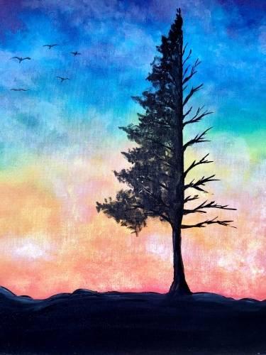 A Breezy Treesy paint nite project by Yaymaker