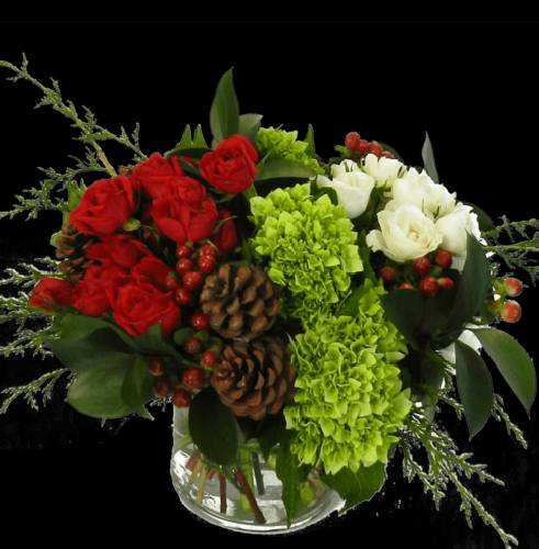 A Happy Holly Days Flower Workshop flower workshop project by Yaymaker