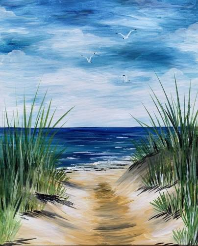 A Dune Path paint nite project by Yaymaker