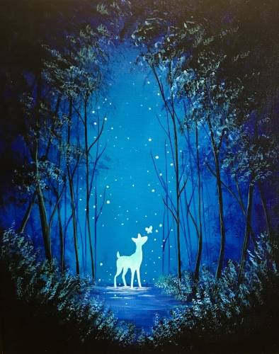 A Magic of Spring II paint nite project by Yaymaker