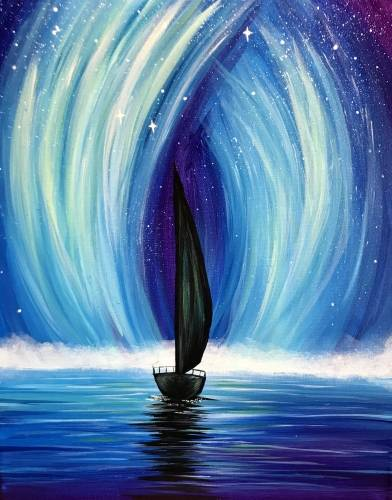 A Mystic Sails paint nite project by Yaymaker