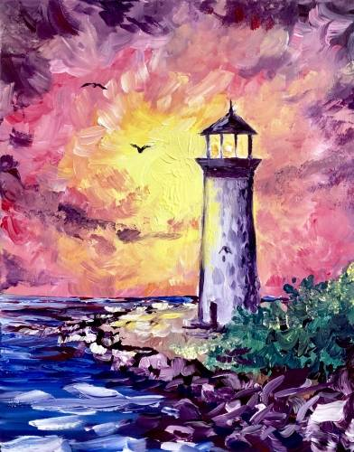 A Lighting the Way II paint nite project by Yaymaker
