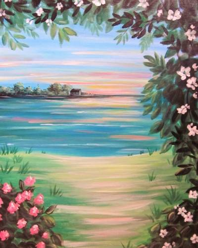 A Hideaway Lake paint nite project by Yaymaker