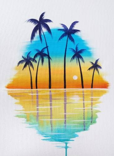 A Summer Serenity paint nite project by Yaymaker