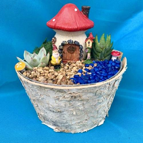 A Welcome to our Gnome Home  Choose your home plant nite project by Yaymaker