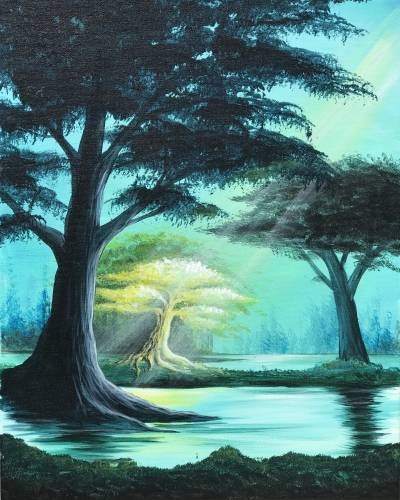 A My Time To Shine paint nite project by Yaymaker