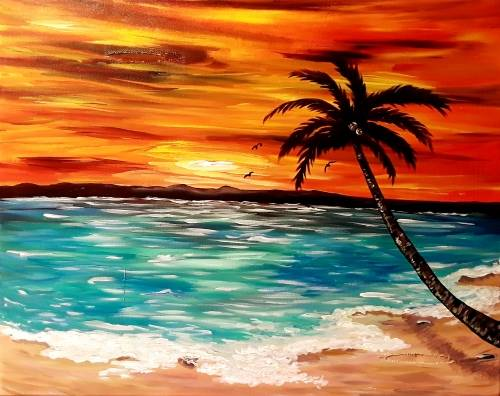 A Tropical Blaze paint nite project by Yaymaker
