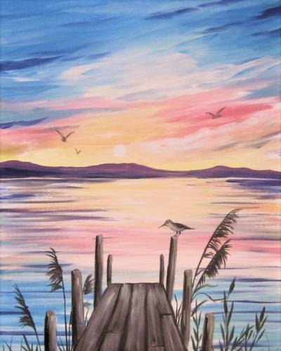 A Piper on a Pier paint nite project by Yaymaker