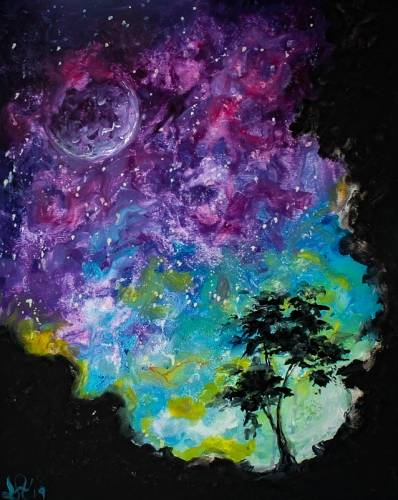 A Purple Skies II paint nite project by Yaymaker