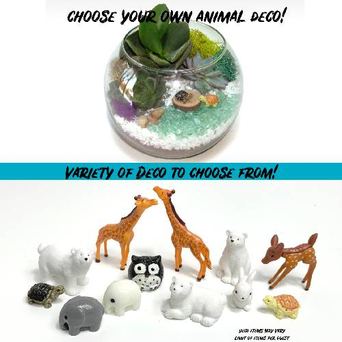 A Choose your Deco Rose Bowl  Animals plant nite project by Yaymaker