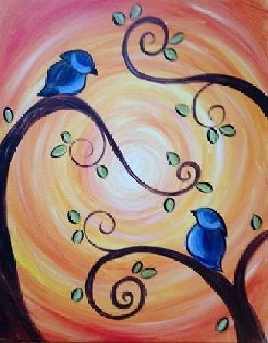A Girl Talk II paint nite project by Yaymaker