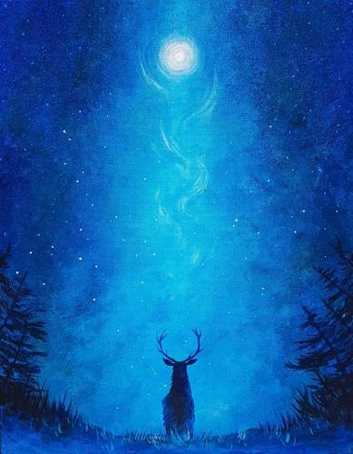 A Stags Aurora paint nite project by Yaymaker