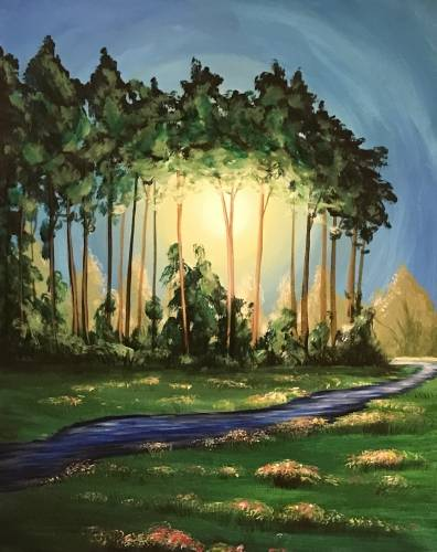 A Field and Stream paint nite project by Yaymaker