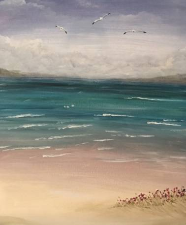 A August Fog paint nite project by Yaymaker