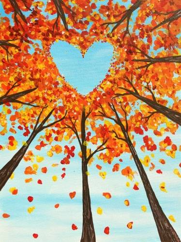 A The Heart of the Forest paint nite project by Yaymaker