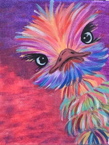 A Baby Emu paint nite project by Yaymaker