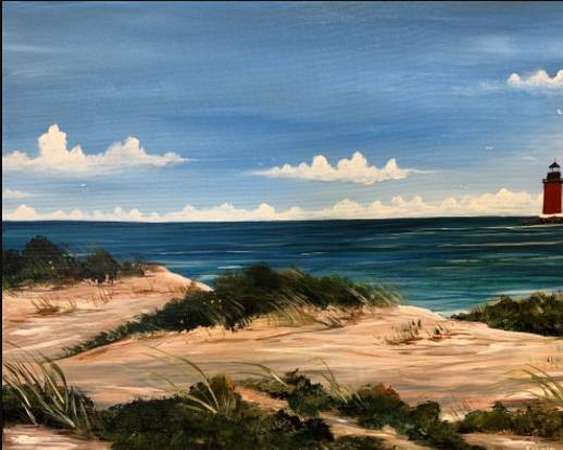 A Dunes of the Cape paint nite project by Yaymaker