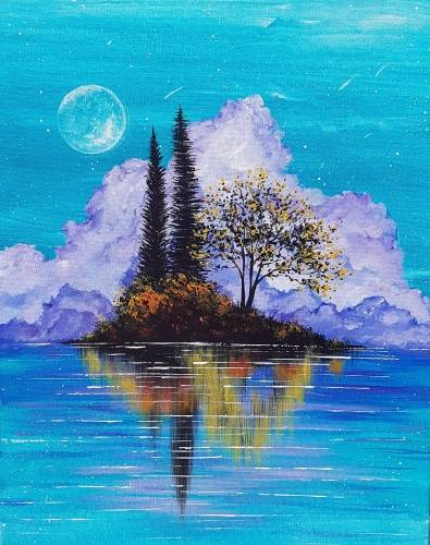 A Harvest Moon Island paint nite project by Yaymaker
