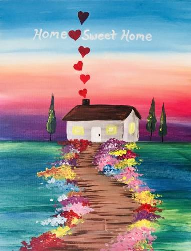A Home Sweet Home VI paint nite project by Yaymaker