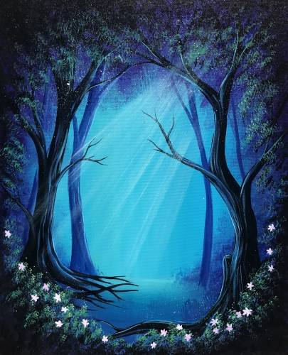 A Secret Forest II paint nite project by Yaymaker
