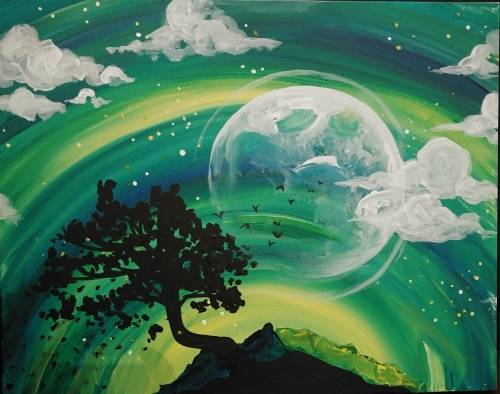 A From Twilight To Starlight paint nite project by Yaymaker