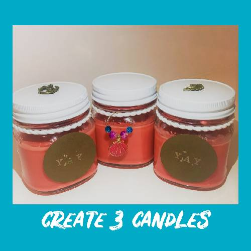 A Candle Scents Trio II candle maker project by Yaymaker