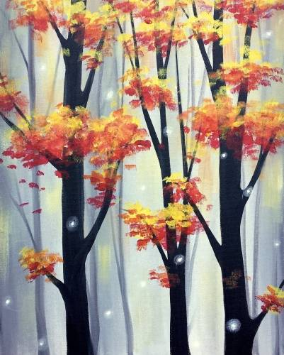 A Firefly Fall paint nite project by Yaymaker