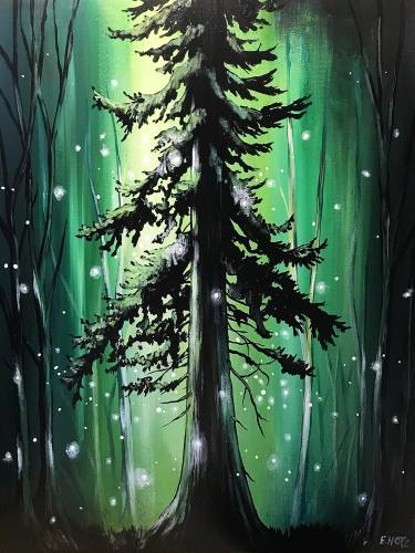 A Old Soul Of The Forest paint nite project by Yaymaker