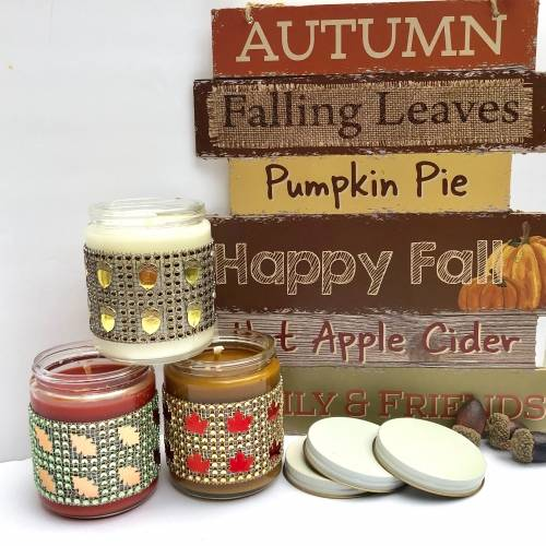 A Candle Making Fall Scents  Set of 3 candle maker project by Yaymaker