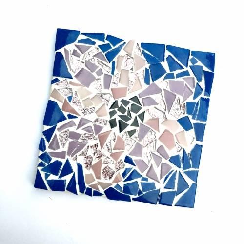 A Make a Mosaic Trivet  Customizable make a mosaic project by Yaymaker