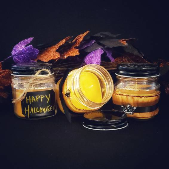 A Halloween Candles I candle maker project by Yaymaker