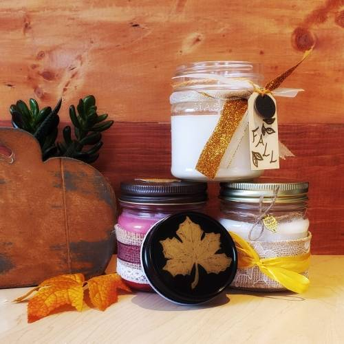 A Fall Candles I candle maker project by Yaymaker