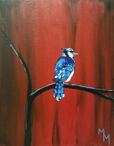 A Bluebird Branches Out paint nite project by Yaymaker