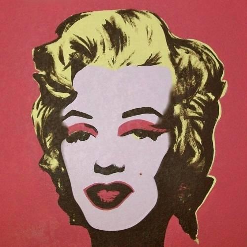 A Warhols Pop Art Marilyn paint nite project by Yaymaker
