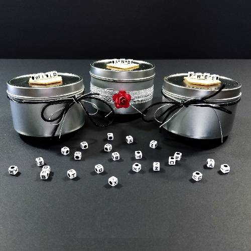 A Metal Tin Soy Candles candle maker project by Yaymaker