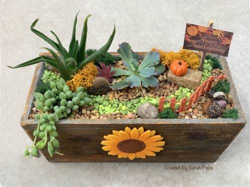 A Happy Thanksgiving plant nite project by Yaymaker
