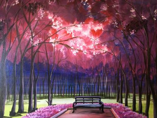 A Fall In Love IV paint nite project by Yaymaker