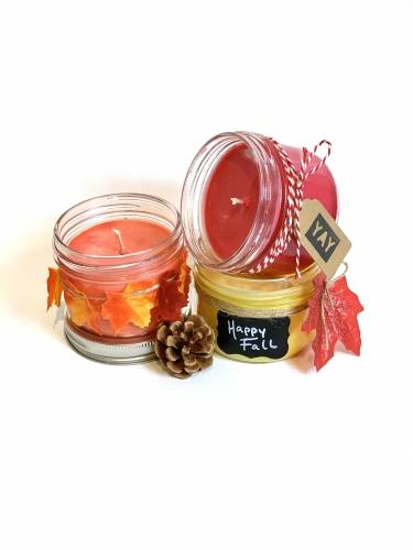 A Fall Candle Trio candle maker project by Yaymaker