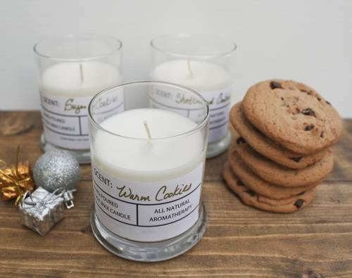 A Christmas Cookie Candles candle maker project by Yaymaker
