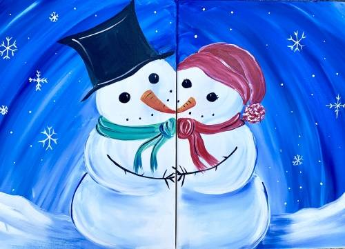 A Snow Where Else Id Rather Be paint nite project by Yaymaker