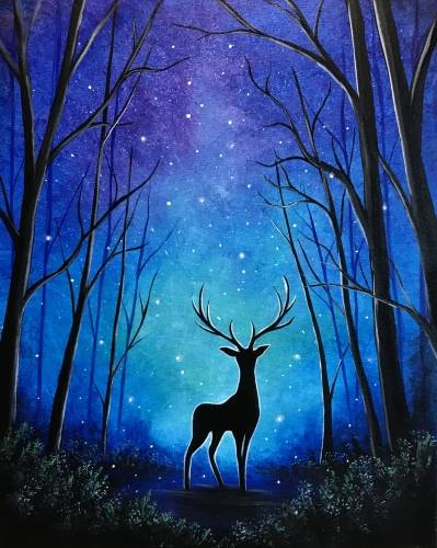A Prince of Twilight paint nite project by Yaymaker
