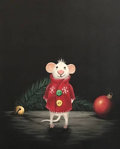 A Merry Mouse Visitor paint nite project by Yaymaker