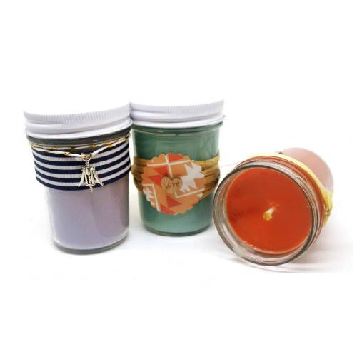A Jelly Jars Trio candle maker project by Yaymaker