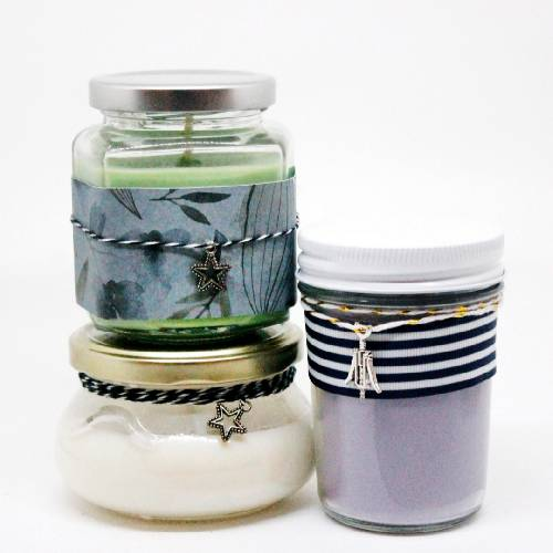 A Mixed Jars Candle Trio III candle maker project by Yaymaker