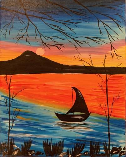 A Sail Away III paint nite project by Yaymaker