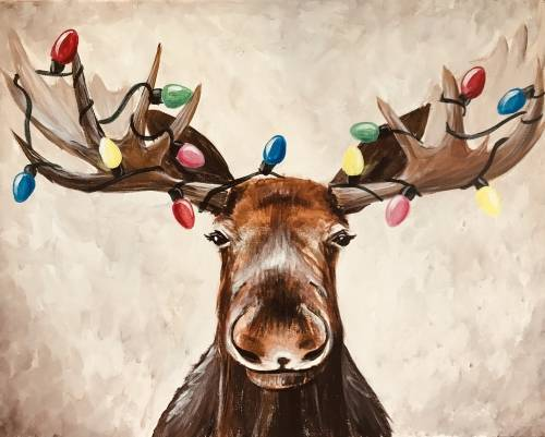 A Moosemas Lights paint nite project by Yaymaker