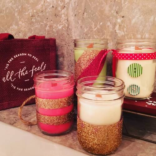 A Christmas Presents candle maker project by Yaymaker