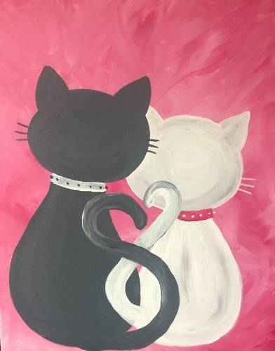A I love Mew paint nite project by Yaymaker