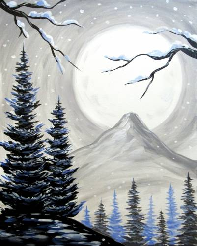 A Simi Winter Lookout paint nite project by Yaymaker