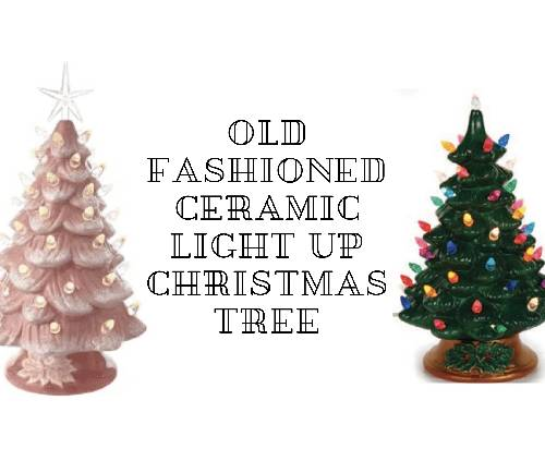 A Old Fashioned Ceramic Light Up Christmas Tree ceramic painting project by Yaymaker